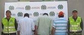 LA POLICÍA NACIONAL CAPTURÓ EN CASANARE TRES HOMBRES SOLICITADOS POR DESPACHOS JUDICIALES DEL META