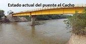 EN UN 90 POR CIENTO VAN LAS OBRAS DEL PUENTE EL CACHO. COMPLETÓ 10 AÑOS DE CONSTRUCCIÓN