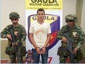 GAULA MILITAR CASANARE CAPTURÓ A DELINCUENTE QUE EXTORSIONABA A NOMBRE DEL ELN