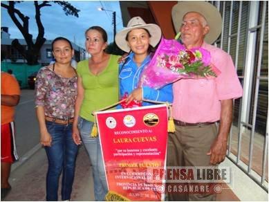 TRINIDAD FUE CAMPEÓN DE VAQUERÍA EN CUBA CON LAURA CUEVAS FONSECA