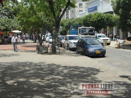 HOY SE ANALIZA PROBLEMÁTICA DE PARQUEADEROS EN EL CENTRO DE YOPAL