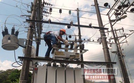 ESTE DOMINGO CORTES DE ENERGÍA EN AMPLIO SECTOR DE CASANARE POR PRUEBAS A LA LÍNEA 115 AGUACLARA – YOPAL