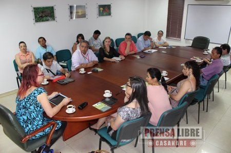 BRIGITTE BAPTISTE DIRECTORA DEL INSTITUTO HUMBOLDT SE REUNIÓ CON DIRECTIVOS DE CORPORINOQUIA