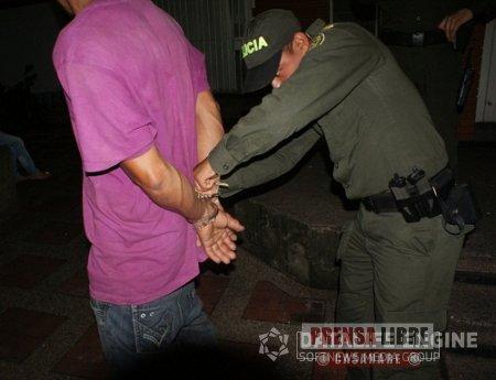 OPERATIVIDAD PÓLICIAL DURANTE EL FIN DE SEMANA PERMITIÓ LA CAPTURA DE 24 PERSONAS EN CASANARE