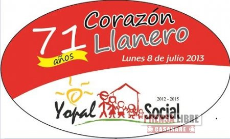 YOPAL CELEBRA HOY 8 DE JULIO EL ANIVERSARIO 71 DE VIDA ADMINISTRATIVA DEL MUNICIPIO
