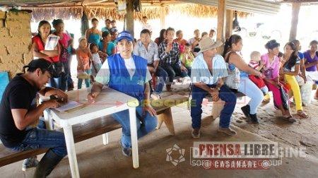SE AMPLIA COBERTURA DEL PROGRAMA MÁS FAMILIAS EN ACCIÓN EN RESGUARDOS INDÍGENAS DE OROCUÉ