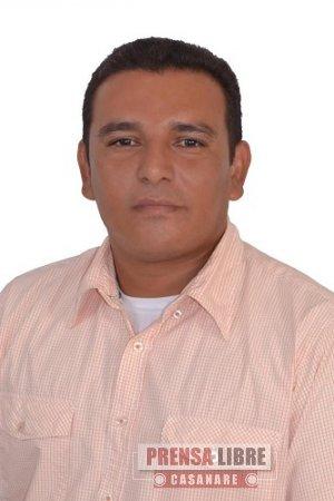 NUEVO SECRETARIO DE OBRAS PÚBLICAS EN AGUAZUL