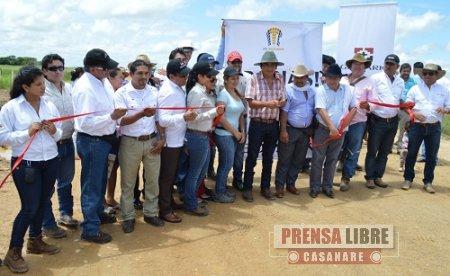 GEOPARK Y NEW GRANADA ENERGY RECUPERARON VIA HACIA LA ESTACIÓN DOROTEA EN PAZ DE ARIPORO