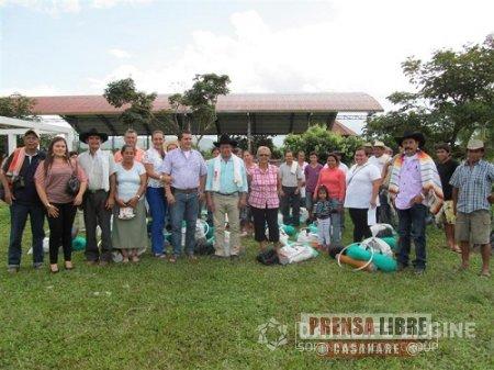 EN SABANALARGA PROGRAMA DE SEGURIDAD ALIMENTARIA BENEFICIA A 20 FAMILIAS