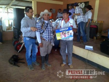 ALCALDÍA DE PAZ DE ARIPORO Y PETROLERAS CELEBRARON EL DÍA DEL CAMPESINO EN CAÑO CHIQUITO