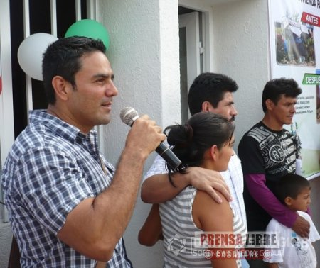 SE ENTREGARON 10 VIVIENDAS DE ÍNTERES SOCIAL EN YOPAL