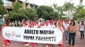 30 ABUELITOS DE YOPAL PARTICIPAN EN XV ENCUENTRO DEPARTAMENTAL DEL ADULTO MAYOR