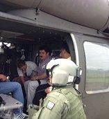 GOBERNADOR MARCO TULIO RUÍZ VISITÓ AYER EL MUNICIPIO DE SÁCAMA