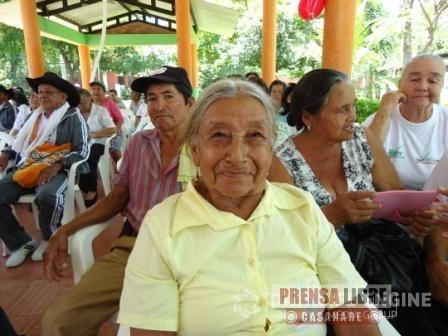 EN YOPAL ENTREGA DE PAQUETES NUTRICIONALES A POBLACIÓN DE LA TERCERA EDAD
