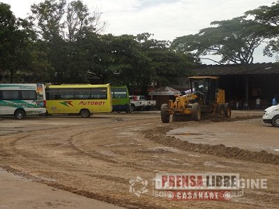 JORNADA DE LIMPIEZA EN TERMINAL DE TRANSPORTES DE YOPAL