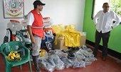 ALCALDÍA DE PAZ DE ARIPORO ENTREGÓ ELEMENTOS AL CUERPO DE BOMBEROS VOLUNTARIOS