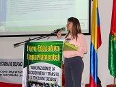 UNITRÓPICO PARTICIPÓ EN EL FORO EDUCATIVO DEPARTAMENTAL