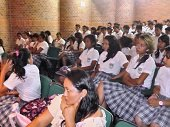 ESTUDIANTES DE AGUAZUL RECIBIERON TALLERES SOBRE PREVENCIÓN DE CONSUMO DE SUSTANCIAS PSICOACTIVAS