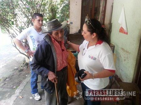 RESCATADO ADULTO MAYOR ABANDONADO EN EL PARQUE CENTRAL DE YOPAL