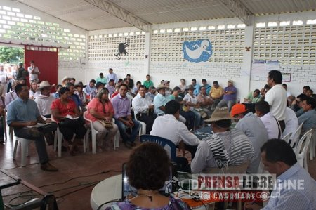 LEVANTADA PROTESTA PACÍFICA EN EL CORREGIMIENTO DE MORICHAL