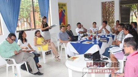 CON PRESENCIA DEL MINJUSTICIA SE EVALUARON SERVICIOS DE LA CASA DE JUSTICIA DE YOPAL