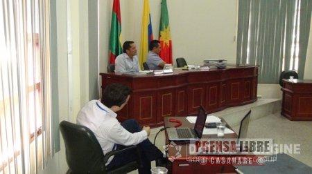 JUAN BAUTISTA VARGAS FUE ELEGIDO NUEVO PRESIDENTE DEL CONCEJO MUNICIPAL DE AGUAZUL