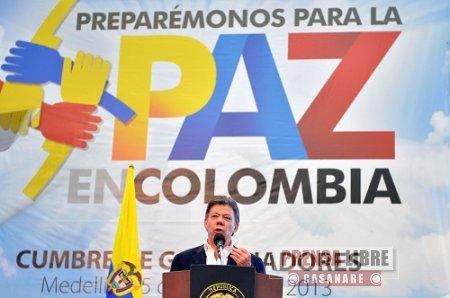 GOBERNADORES DEL PAÍS REITERARON APOYO AL PROCESO DE PAZ