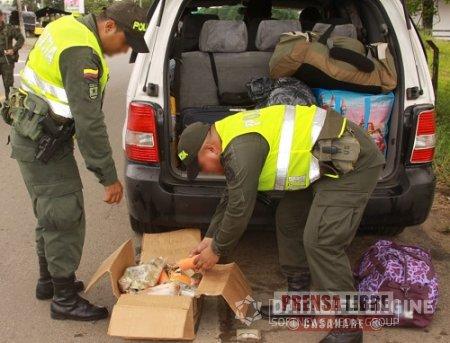 LA POLICÍA DEL META INCAUTÓ 25 KILOS DE PENTOLITA