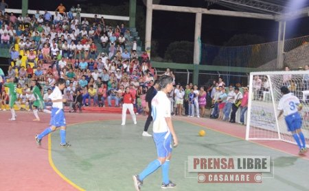 XXV TORNEO DE FUTBOL DE SALÓN EN PAZ DE ARIPORO FUE PARA CUNDINAMARCA