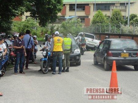 CUATRO NUEVOS AGENTES DE TRÁNSITO INICIARON A OPERAR EN YOPAL