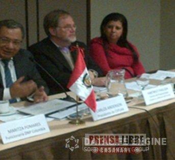 ALCALDESA DE MANÍ PARTICIPA EN INTERCAMBIO DE EXPERIENCIAS EN LIMA- PERÚ SOBRE PLANEACIÓN DE DESARROLLO TERRITORIAL