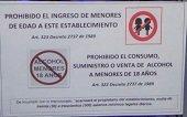 EN TRINIDAD SELLARON TRES BARES POR PERMITIR PRESENCIA DE MENORES