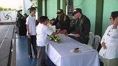 POLICÍA CLAUSURÓ PROGRAMA CONTRA EL USO DE LAS DROGAS Y LA VIOLENCIA EN EL COLEGIO MANUELA BELTRAN DE YOPAL