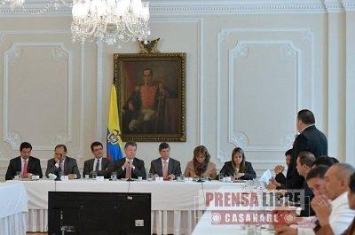 CASANARE LOGRÓ LA APROBACIÓN DE 64 MIL MILLONES DE PESOS EN OCADTON