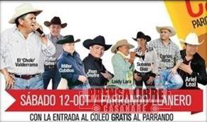LO MEJOR DE LA CANTA CRIOLLA ESTARÁ EN EL PARRANDO LLANERO DEL MUNDIAL DE COLEO EN VILLAVICENCIO