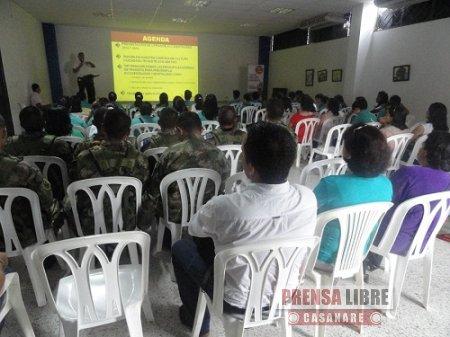 EN LA SEMANA AMBIENTAL DE YOPAL CAPACITACIÓN A ESTUDIANTES EN SEGURIDAD VIAL
