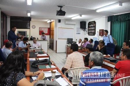 SESIONES DE CONTROL POLÍTICO EN EL CONCEJO MUNICIPAL DE MANÍ