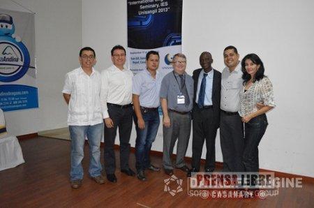 INTERNATIONAL ENGINEERING SEMINARY, UNISANGIL 2013