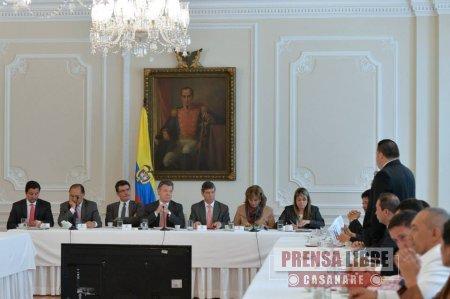 OCADTON DE CASANARE APROBÓ HOY 26 PROYECTOS POR $62 MIL MILLONES