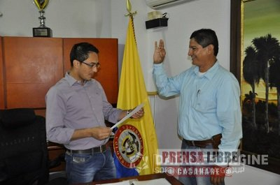 EN TAURAMENA SE POSESIONÓ NUEVO SECRETARIO GENERAL