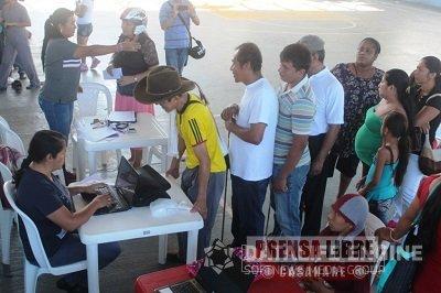 TERCERA ENTREGA DE PAQUETES NUTRICIONALES PARA LA POBLACIÓN ADULTA MAYOR DE YOPAL