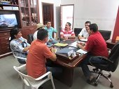 MAQUINARIA DEL MUNICIPIO ATENDERÁ RED VIAL EN LAS 9 VEREDAS DEL CORREGIMIENTO DE LA CHAPARRERA