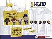 HOY SE REALIZA  SIMULACRO INSTITUCIONAL DE EVACUACIÓN POR SISMO