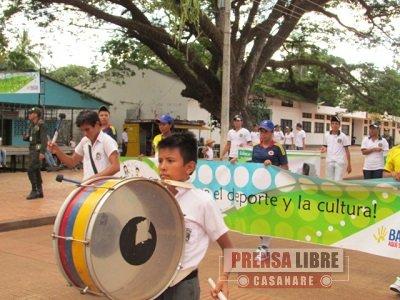 NIÑOS, NIÑAS Y ADOLESCENTES DEL VICHADA JUEGAN POR LA VIDA