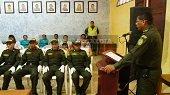 OROCUÉ CUENTA CON AUXILIARES BACHILLERES DE LA POLICÍA NACIONAL