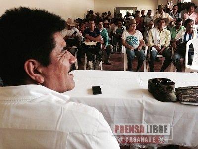 MARCO TULIO RUIZ VISITÓ ESTE DOMINGO VEREDA LOS ALPES, UNA DE LAS MÁS LEJANAS DE RECETOR
