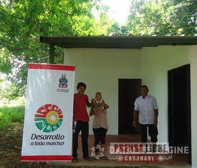 165 VIVIENDAS NUEVAS PARA INDÍGENAS CONSTRUYE LA GOBERNACIÓN DE CASANARE