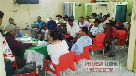 45 DÍAS COMPLETA BLOQUEO A LAS OPERACIONES DE LA COMPAÑÍA PETROLERA TABASCO EN PAZ DE ARIPORO