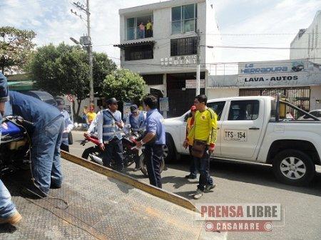 145 MOTOCICLETAS FUERON INMOVILIZADAS DURANTE EL DÍA SIN MOTO EN YOPAL. HOY NO HABRÁ RESTRICCIÓN