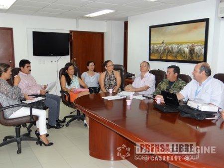 CONSEJO SECCIONAL DE ESTUPEFACIENTES APROBÓ PLAN DEPARTAMENTAL DE DROGAS